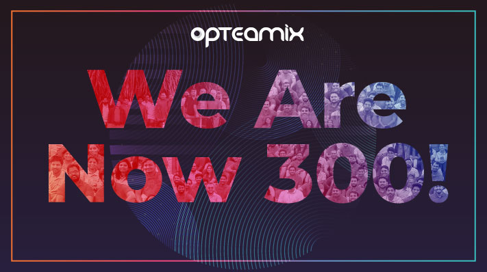 We are Now 300 Strong!